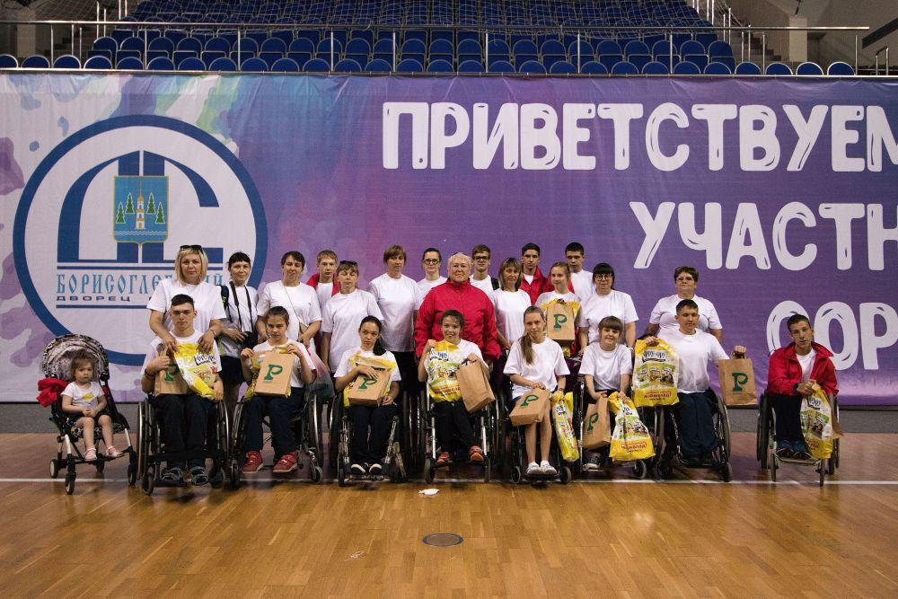 «Всероссийская летняя спартакиада детей с поражением опорно-двигательного аппарата» в г.Раменское